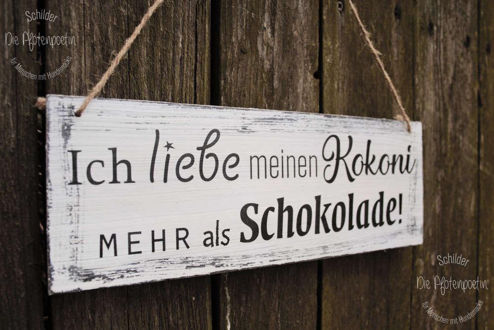 Schokolade Ebenholz