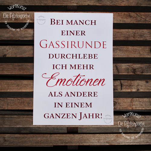 Kunstdruck Emotionen